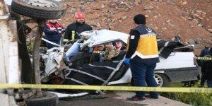 Şanlıurfa'da feci kaza 2 ölü, 5 yaralı