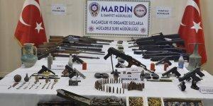 Mardin'de silah ve tarihi eser operasyonu