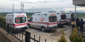 Lice'de kaza: 1'i çocuk 4 yaralı