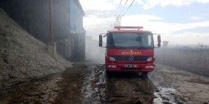 Diyarbakır'da çırçır fabrikasında yangın