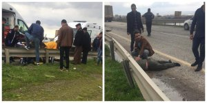 Diyarbakır-Batman karayolunda kaza
