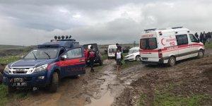 Diyarbakır'da dere yatağında mahsur kalan 4 kişi kurtarıldı