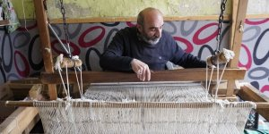 Siirt'te 50 yıldır battaniye üretiyor