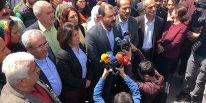 VİDEO - HDP'lilerden Ceylan'a destek, YSK'ya protesto