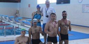 Engelli yüzücülerin hedefi Türkiye şampiyonluğu