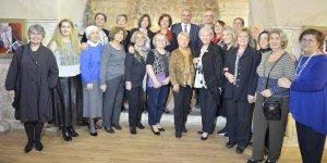 Hayallerindeki Mardin'i tuvale yansıtan kadınlar sergi açtı