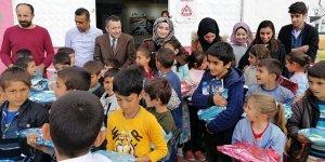 Diyarbakır'da lise öğrencilerinden anlamlı destek