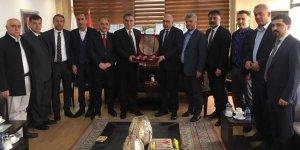 Diyarbakırlı iş insanlarından Süleymaniye TSO'ya ziyaret
