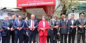 23 Nisan çocuk kütüphanesi açıldı