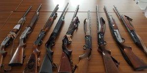 Kaçak avcıların silahları ihaleye çıkıyor