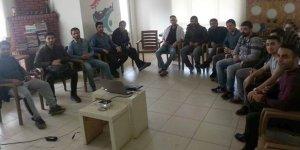 Diyarbakır'da gençlere bağımlılık bilgilendirme eğitimi