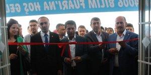 Şırnak'ta TÜBİTAK bilim fuarı açıldı