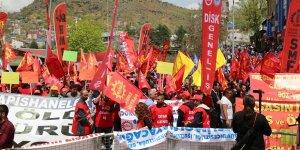 Tunceli'de 1 Mayıs kutlaması