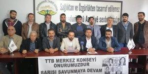 Amed Emek Demokrasi Platformu: TTB onurumuzdur
