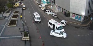 VİDEO - Diyarbakır ve Batman'da MOBESE'ye yansıyan kazalar