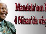 Mandela'nın hayatı 4 Nisan'da vizyonda