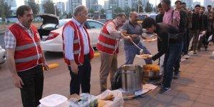 Mültecilere Kızılay Diyarbakır Şubesi yardım eli uzattı