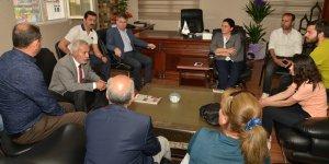 Mızraklı'dan HDP yeni il yönetimine ziyaret