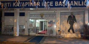 Diyarbakır AK Parti Kayapınar ilçe teşkilatına EYP'li saldırı