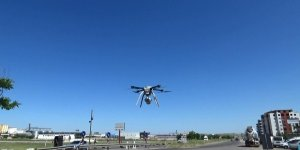 VİDEO - Diyarbakır'da drone ile trafik denetimi