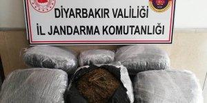 VİDEO - Diyarbakır'da 47 kilo 100 gram esrar yakalandı