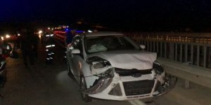 Adıyaman'da iki otomobil çarpıştı: 11 yaralı