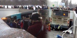 Rusya'da trafik kazası: 2 ölü, 13 yaralı