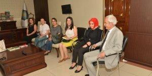 İş kadınlarından Başkan Mızraklı'ya ziyaret