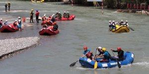 Tunceli'de Dünya Rafting Şampiyonası
