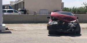 Çınar'da trafik kazası