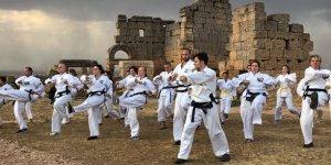 Alman taekwondocular Zerzevan'da