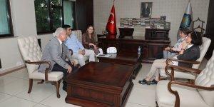 Marmara Üniversitesi'nden Mızraklı'ya ziyaret