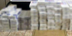 Midyat'ta bin 490 paket kaçak sigara ele geçirildi