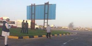 Libya'daki Mitiga Uluslararası Havalimanı'nda uçuşlar durdu