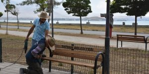 Tatvan'daki parklar onarımda