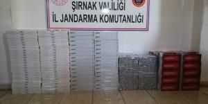 Şırnak'ta 3 bin 760 paket kaçak sigara ele geçirildi