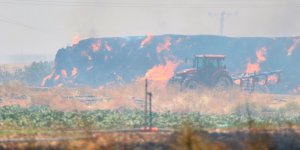 Bölgede anız yangınlarına karşı seferberlik