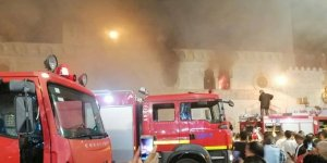 Ürdün'de tarihi camide yangın çıktı
