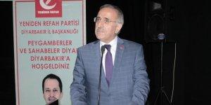 Yeniden Refah Partisi Diyarbakır il divan toplantısı