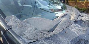 Endonezya'da bir volkan faaliyete geçti