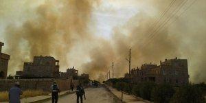 Mardin'de büyük yangın: 6 Süryani köyü ve Botaş İstasyonu tehdit altında