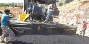 Siirt'te sıcak asfalt çalışmaları