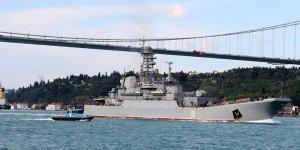 Savaş gemisi 'Caesar Türkiye'ye giriş yaptı
