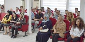 Beyoğlu belediye çalışanlarıyla bir araya geldi