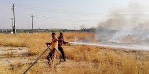 Şanlıurfa'da mülteci kampında yangın