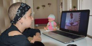 9 yaşındaki Yasemin Bulak, lösemi hastalarına umut oluyor