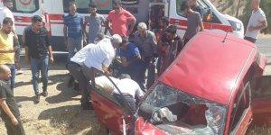 Gercüş'te trafik kazası: 1 ölü, 4 yaralı