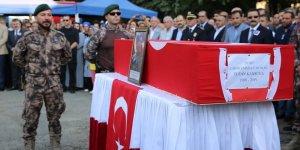 Şehit Özel Harekat Müdürü memleketine uğurlandı