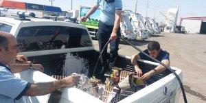 Bağlar Belediyesi'nden satışı yasak olan patlayıcı maddelere imha işlemi