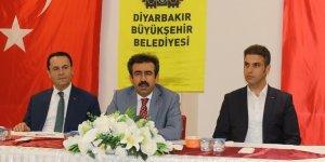 Vali Güzeloğlu'ndan, aşure ikramı programı